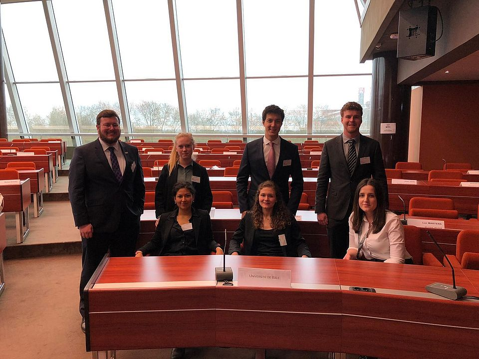 Moot Court-Team 2019